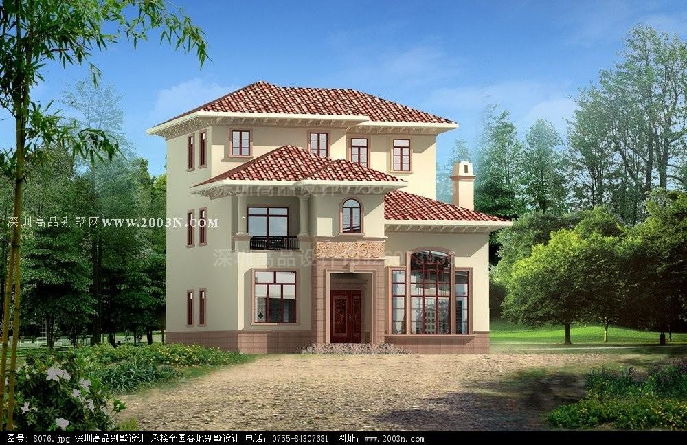 农村房子平面设计图 住宅平面设计 农村别墅外观效果
