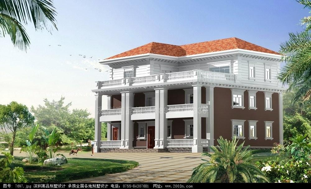 90平房子装修设计图 房子平面设计图 农村别墅外观图
